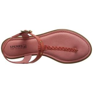 Sperry Virginia T-Strap Sandal in Coral